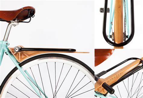 Bike Fender Rack by Slim Wood Rack Fender Lumberjac