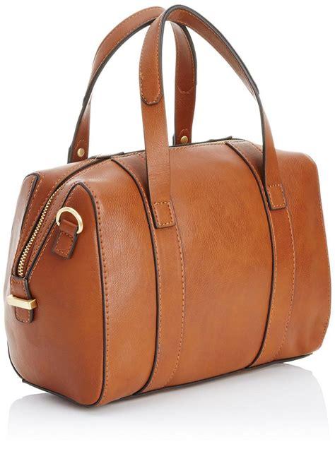 Fiore Tessa Bag by Fiorelli Tessa Bowling Bag Handbag Mink Black Croc