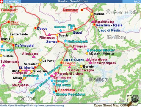 Motorrad Online Maps by Livigno Italien Karte Kleve Landkarte