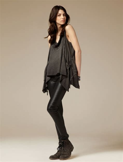 In Style Showcases Rock Style by All Saints Summer 2011 Lookbook