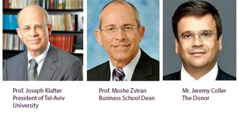 Executive Mba Hebrew by Tel Aviv Nabs 50m Donation Coller School Of