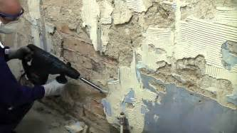 how to remove plaster