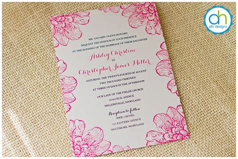 Wedding Invitation Introduction by Introduction To Typeface For Philadelphia Custom Wedding