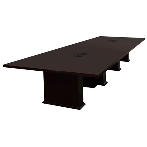 Kimball Conference Table National By Kimball 16ft Used Veneer Conference Table Mahogany National Office Interiors And