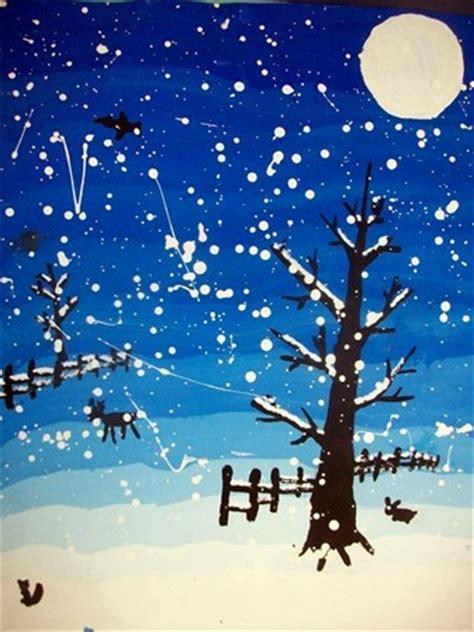 Winter Landscape Ks2 187 Best Winter Projects Images On