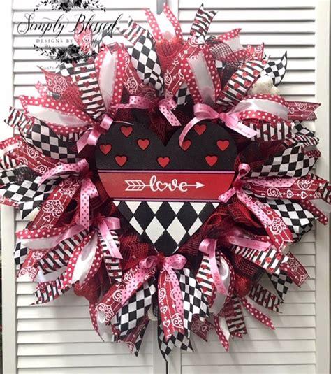 valentines wreath valentine day wreath valentines wreath