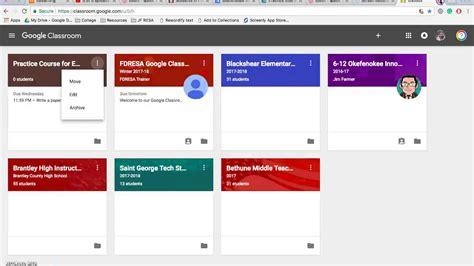 edmodo vs google classroom 2017 google classroom winter 2017 youtube