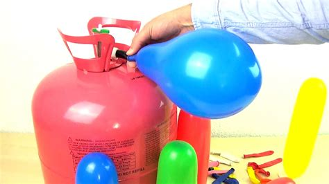 color of helium learn colors with helium balloons learn for