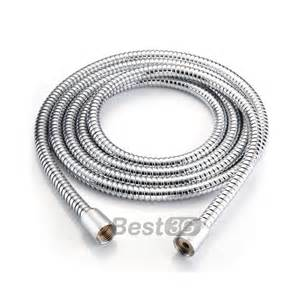 bath shower head and hose 0 8m 1 5m 3m long stainless steel 1 2 quot bath bathroom