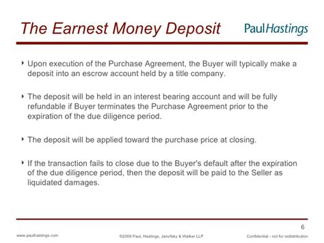 earnest money deposit agreement template commercial office building acquisition