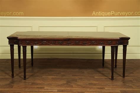 french style dining french louis xvi neoclassical mahogany dining room table