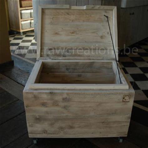 salontafel kist steigerhout kist in gebruikt steigerhout salontafels indoor