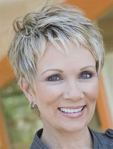 short hair cuts for women over 65 showing back and front 20 good short haircuts for women over 50 short