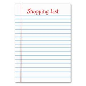 Easy Shopping List Template 7 Shopping List Templates Excel Pdf Formats