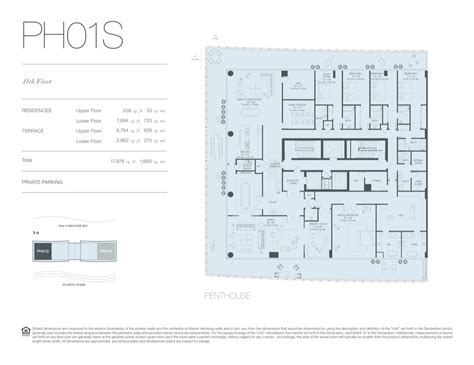 Oceana Key Biscayne Floor Plans | oceana key biscayne new construction