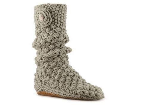 lemon slipper socks lemon knit popcorn slipper sock dsw