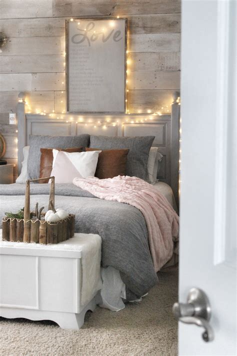 cozy bed cozy bedroom reveal and a chalk painted pillow simple