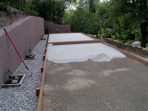 build a bocce court in backyard backyard bocce ball court designs farmhouse design and furniture gogo papa