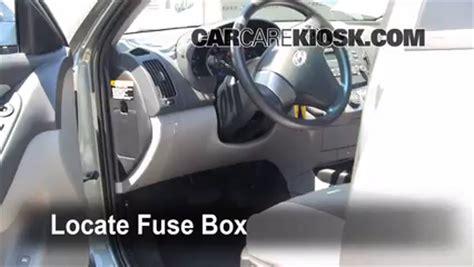 interior fuse box location: 2007 2012 hyundai elantra