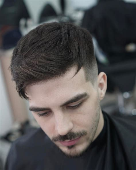 mens crown thinning brush back men hairstyle hairstyles for men with thinning hair mens