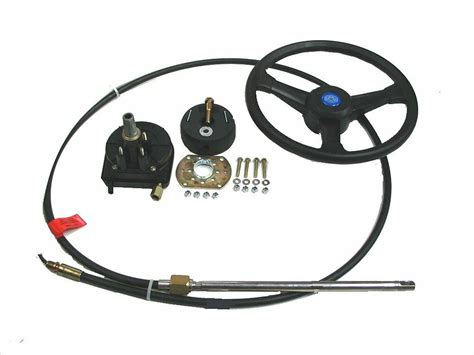 jet boat steering wheel size boat steering system rotary 13 cable outboard 55 hp max