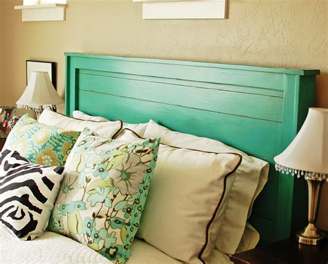 turquoise headboard ana white turquoise headboard diy projects