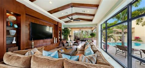 tuscan sun family room golden oak  walt disney world