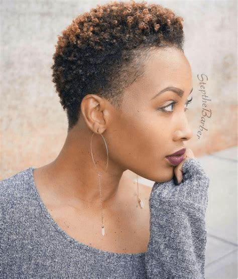 straight styles for natural twa tapered cut elegant beauty source stepthebarber