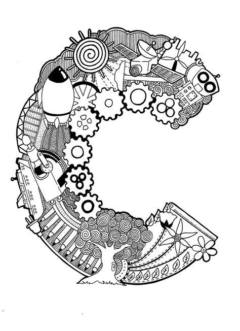 doodle letter doodle the letter c by psychokira deviantart on