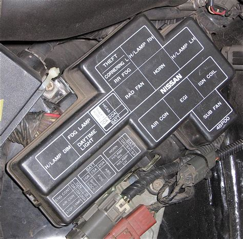 Fuses And Locations For Nissan 300zx Z32 1990 96