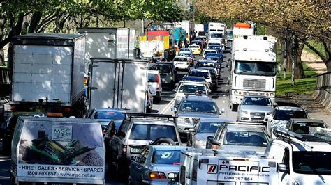 citylink news furious drivers trapped in citylink gridlock slam toll