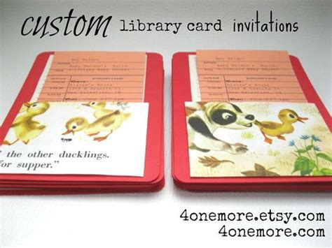 make a library card 25 best ideas about library baby showers on