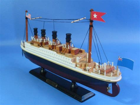 titanic toy boat videos rms titanic wooden model cruise ship 14 quot titanic toy ebay