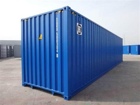 container 40 piedi misure interne container marittimi nuovi e usati vendita e noleggio sogeco