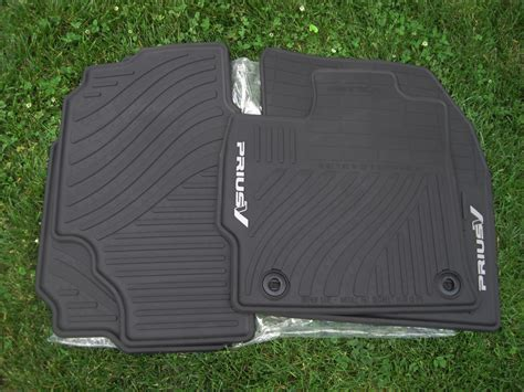 Prius Floor Mat by F S 2012 Prius V Factory All Weather Floor Mats Free