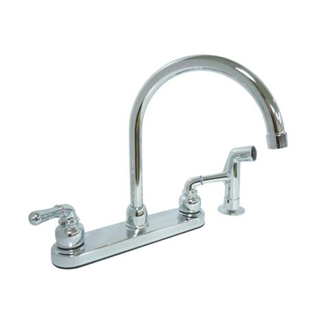 2 handle standard kitchen faucet in chrome hs8181210cp kissler co dominion 2 handle standard kitchen faucet