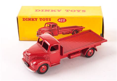 Flat 422 Orange a dinky toys 422 fordson thames flat truck and