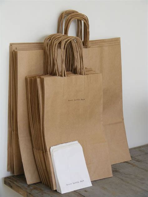 How To Make Small Bags Out Of Paper - best 25 brown paper bags ideas on bakers