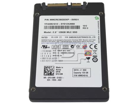 Harddisk Ssd Samsung samsung mmcre28g5dxp 0vb 128gb 2 5 quot mlc solid state sata drive