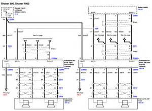 shaker 1000 subwoofer wiring diagram get free image