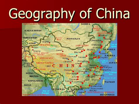 themes of geography china geography of china