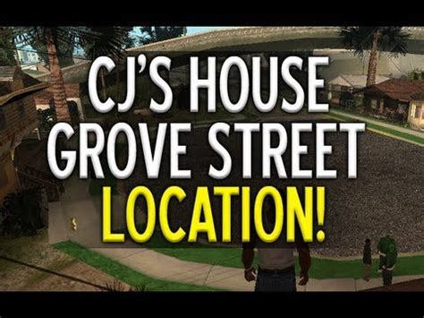 """grand theft auto 5 how to find grove street"" cj's house"