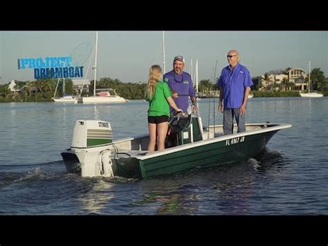 florida sportsman dream boat youtube florida sportsman project dreamboat boston whaler grind