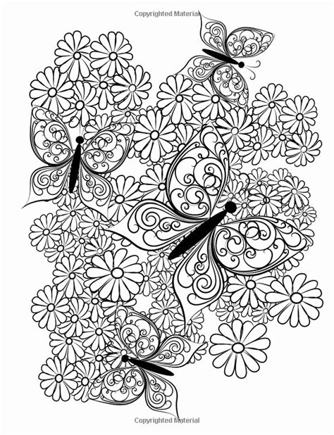 Coloring Pictures Of Flowers And Butterflies by Coloring Pictures Of Flowers And Butterflies Inspirational