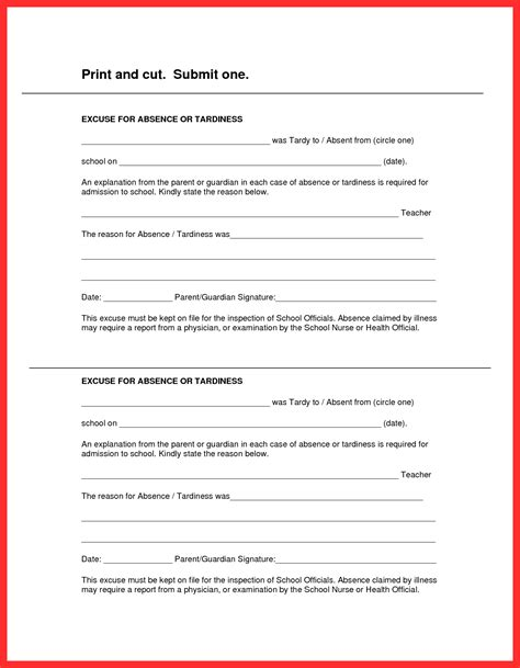 hospital note for work template hospital work excuse resume format