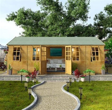 Garden Wood House Plans