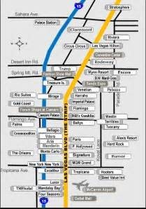 Las Vegas Hotel Maps by Las Vegas Strip Hotel Map
