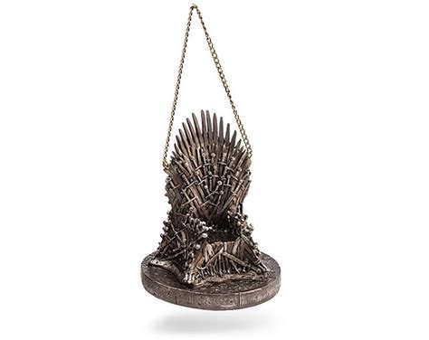 game of thrones ornament takes over christmas tree