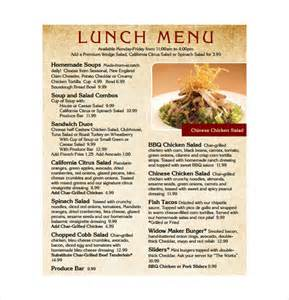 lunch menu template lunch menu template 32 free word pdf psd eps
