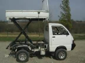 Daihatsu Hijet 4x4 1992 Daihatsu Hijet Mini Truck 4x4 Dump Scissor Lift Bed